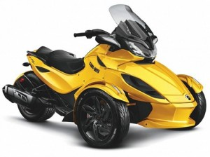 Can-Am Spyder ST Roadster
