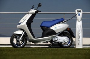 Peugeot electric scooters
