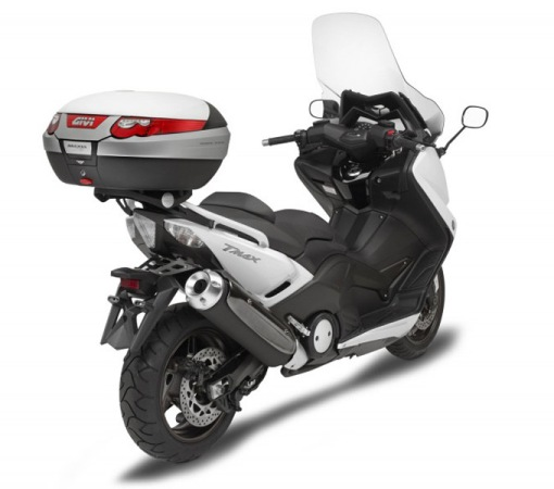 givi equips the yamaha t max 530 new sports bikes. Black Bedroom Furniture Sets. Home Design Ideas