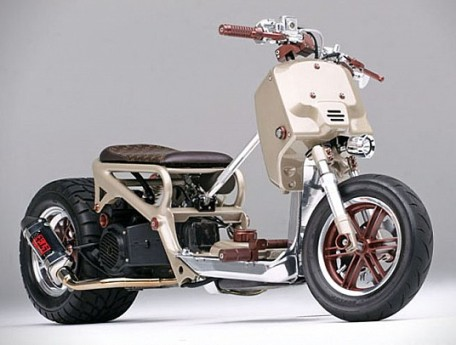 Honda Ruckus Custom LV Project