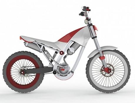 air-powered motorcycle