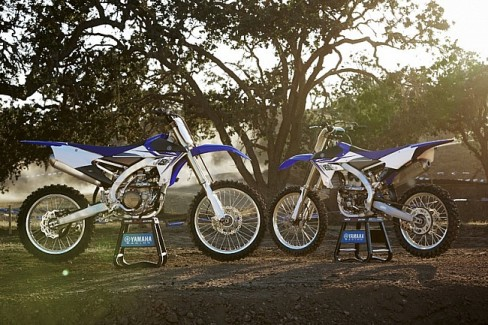 2014 YZ250F and YZ450F