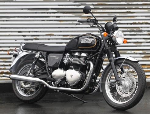 Triumph Bonneville T100 Meriden SE