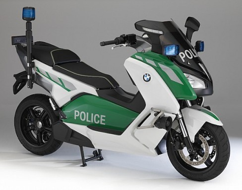 BMW C Evolution Police