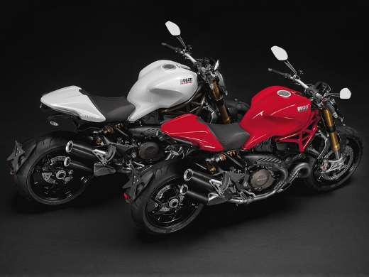 Ducati Monster 1200 and 1200 S
