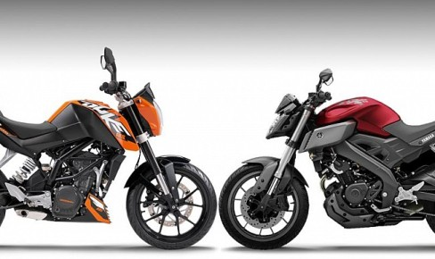 Yamaha MT-125 Vs KTM 125 DUKE