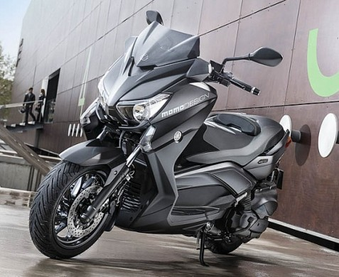 yamaha x max 400 momodesign italian sportsmanship new sports bikes. Black Bedroom Furniture Sets. Home Design Ideas
