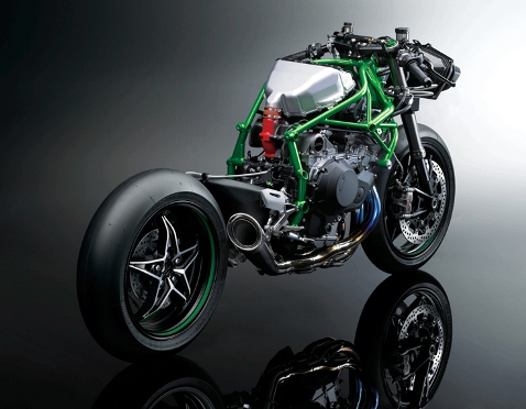 the kawasaki ninja h2r is a race bike for good and bad new sports bikes. Black Bedroom Furniture Sets. Home Design Ideas