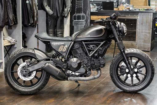 Ducati Scrambler Sixty2 Revolution