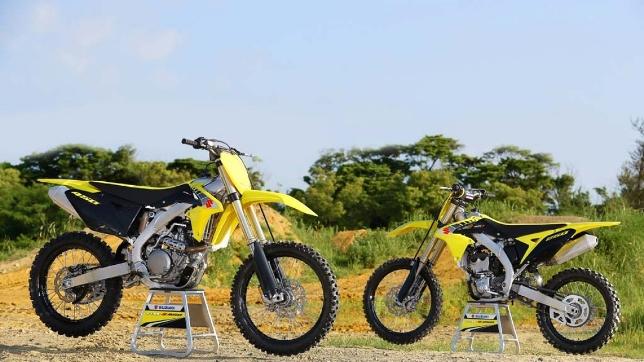 2017 Suzuki RM-Z range