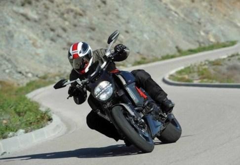taking turns on motorbike