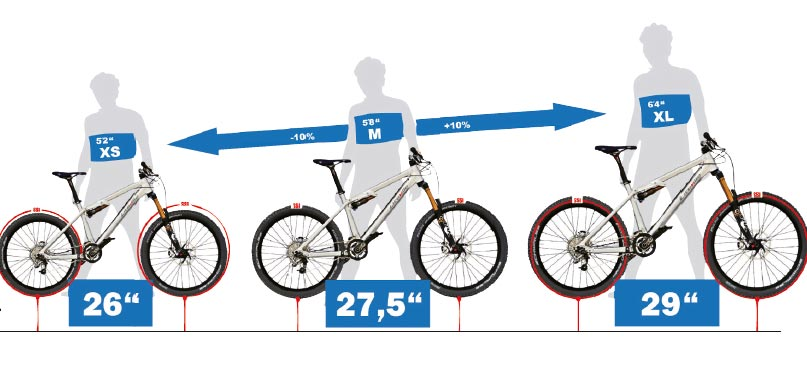 bicycle size